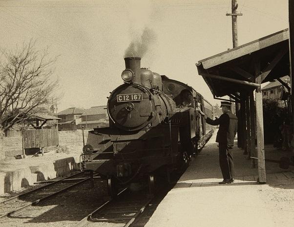 C12型蒸気機関車 S32.法華口